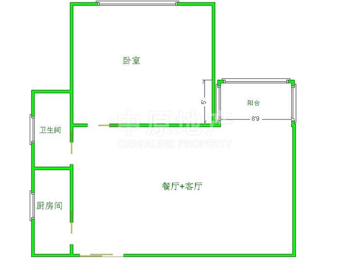 3.装修好,房子是房东刚刚装修好准备自己住的,绝对物有所值